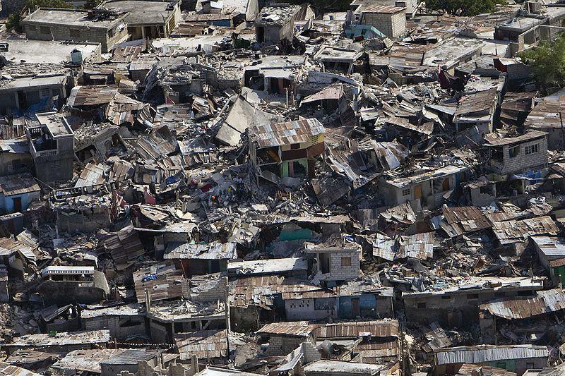 The aftermath of the Haiti Earthquake