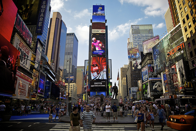 New York city's Time Square