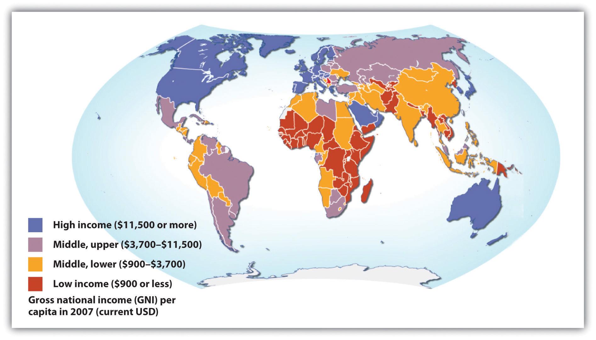 Global Stratification Map