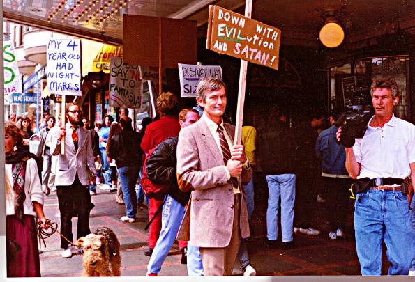 Fantasia Protest, Castro Theater, 1991