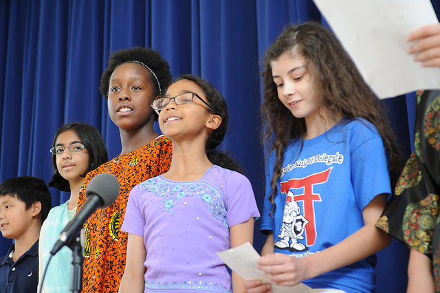 Arnn students celebrating diversity