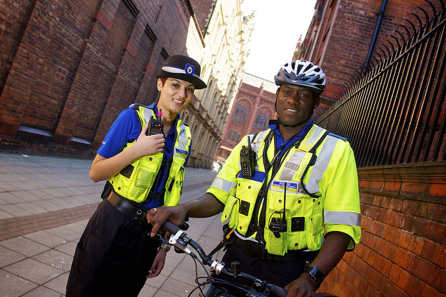 PCSOs on Patrol in Birmingham
