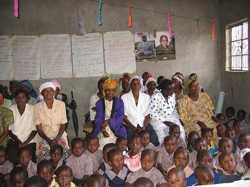 AIDS Orphans and their Guardians in Sophia Village near Nairobi, Kenya