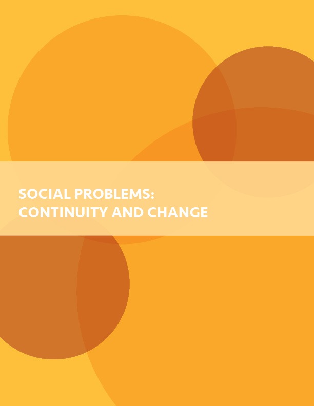 Cover image for Social Problems: Continuity and Change