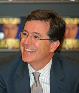 Colbert in May 2009