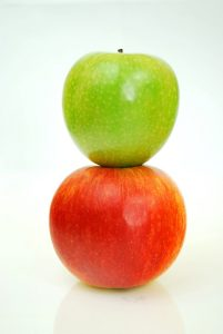 Apples, Green and Red