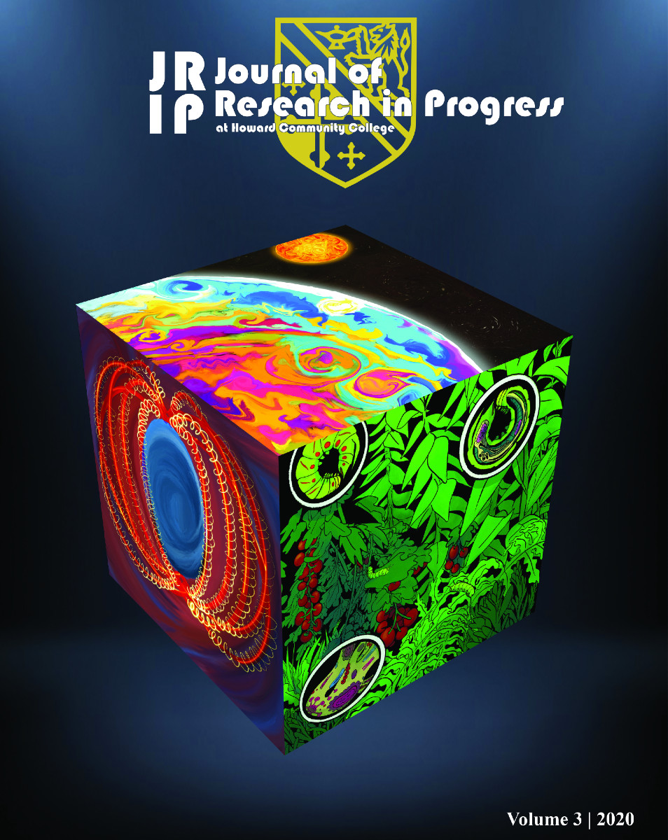 Cover image for Journal of Research in Progress Vol. 3