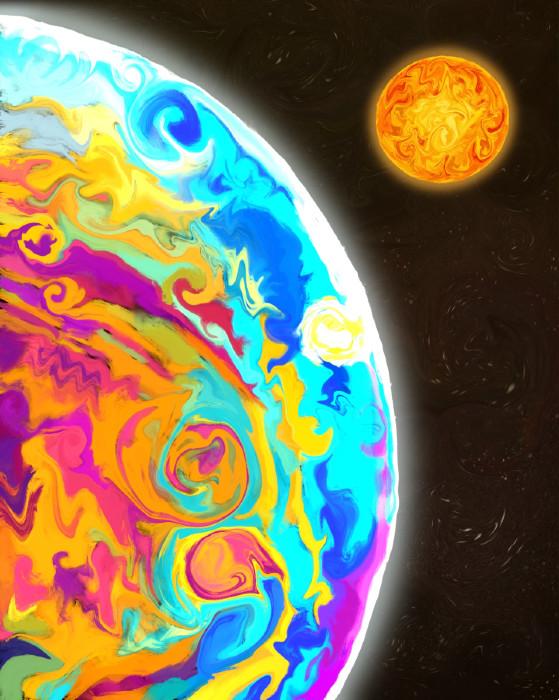 """Mercury's Passage"" Shree Krishnan"