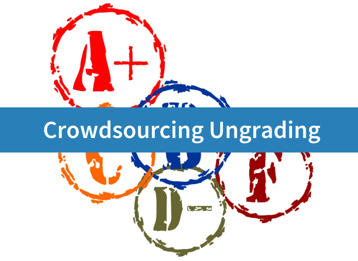 Cover image for Crowdsourcing Ungrading