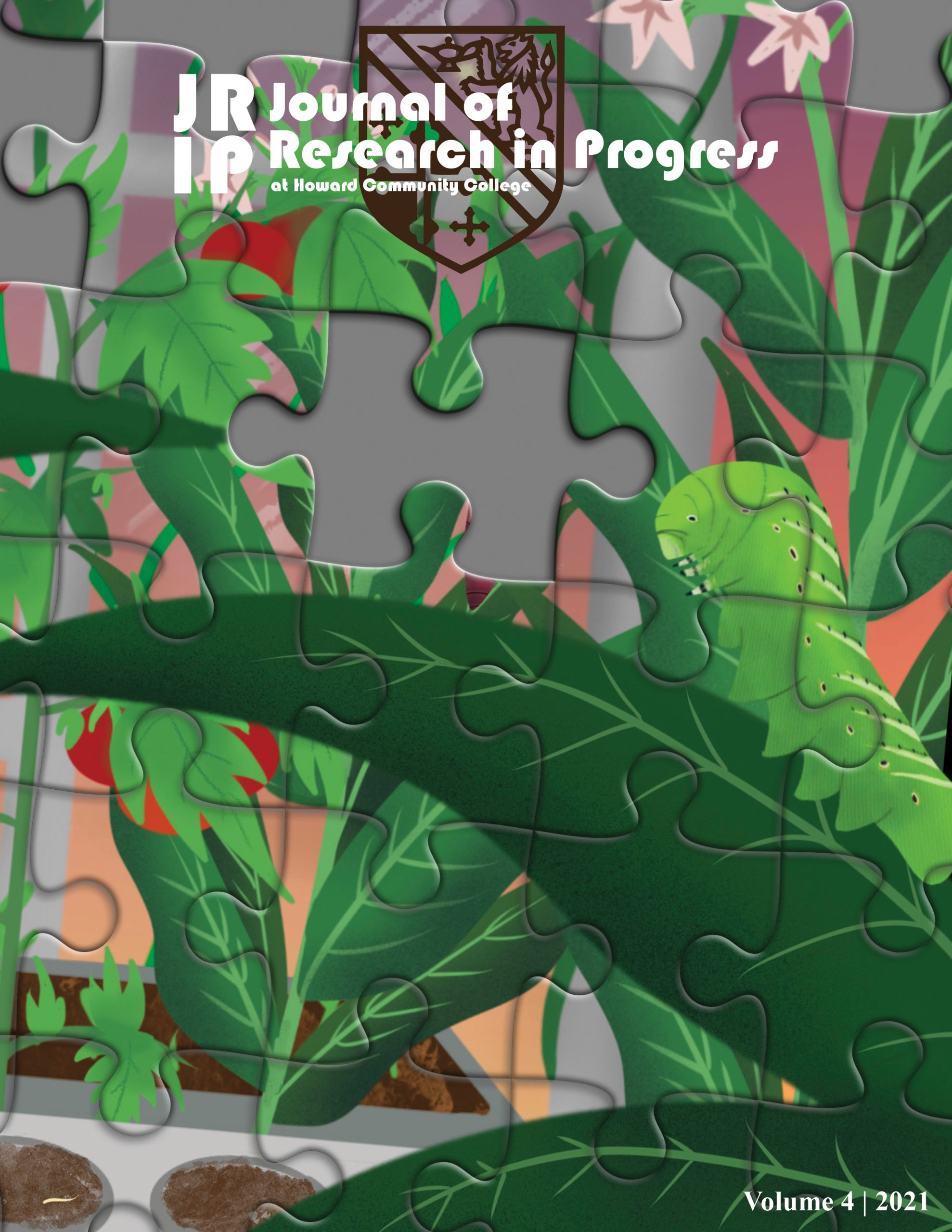 Cover image for Journal of Research in Progress Vol. 4
